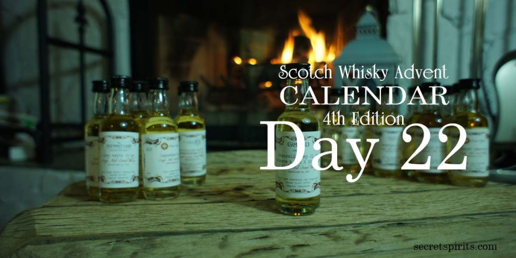 Scotch Whisky Advent Calendar Day 22